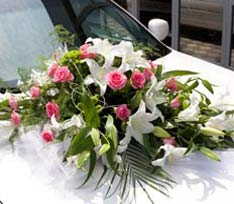 chauffer driven cars for your wedding day