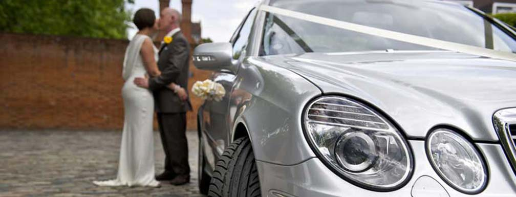 wedding car hire - luxury mercedes cars for your wedding